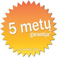 5metųgarantija